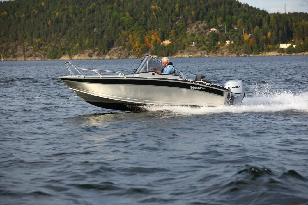 VELKJØRENDE: Silver Wolf 510 er morsom og velkjørende.