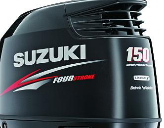 Suzuki med elektronisk gir og gass