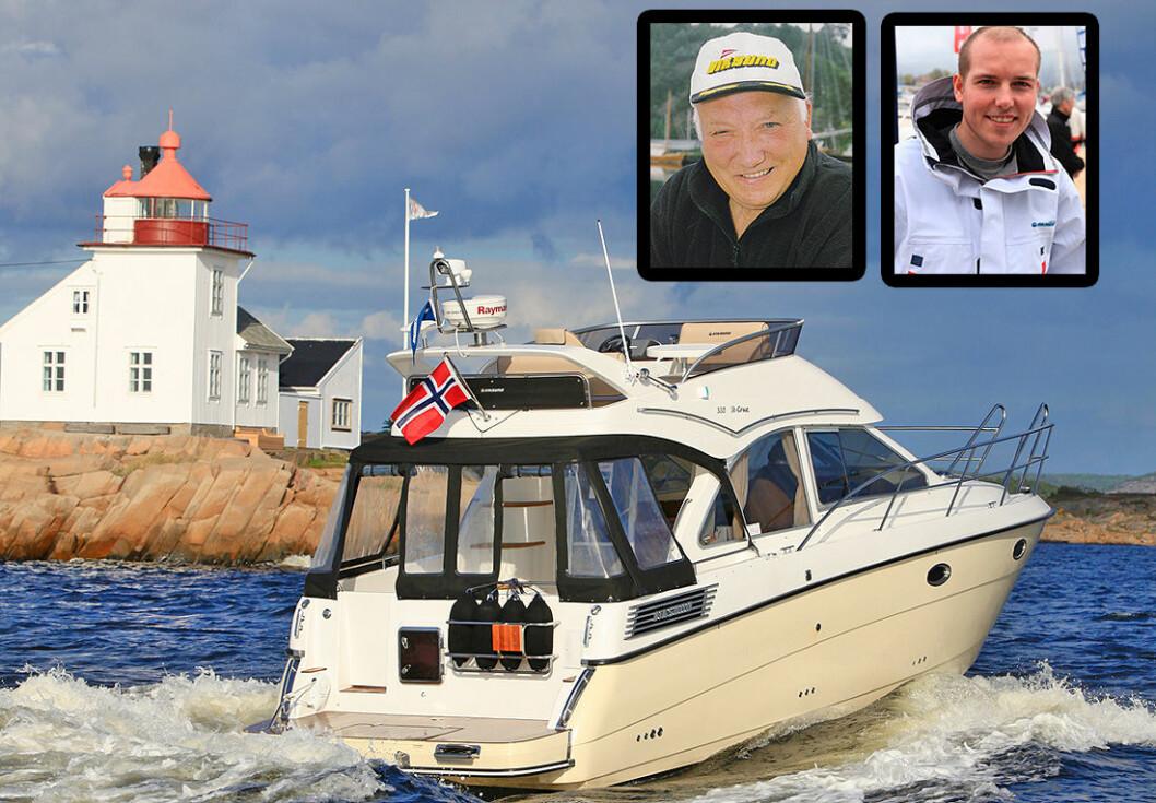 UENIGHET: Både Martin Viksund (t.h), i West Yards og bestefar Erling Viksund i Viksund trading vil ha rettigheter til videre Viksund-produksjon.