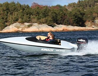 Kimach 450 Speed - Laget av 15-åring
