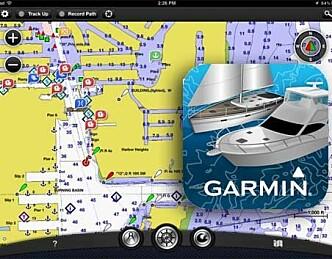 Lanserer navigasjons-app