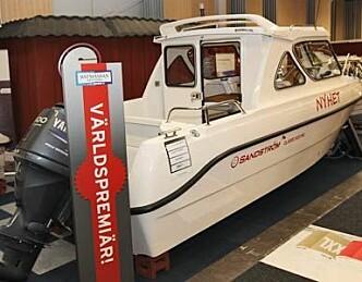 Allværsbåt fra Nord-Sverige