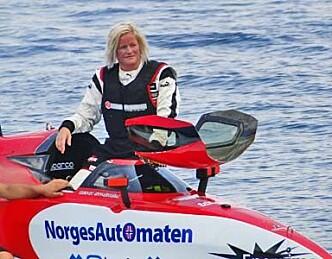 Marit på andreplass i F1