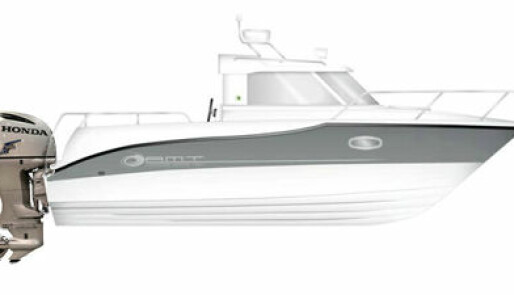 Ny finsk styrhusbåt