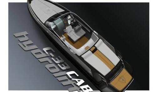 Ny fartsbåt fra Hydrolift