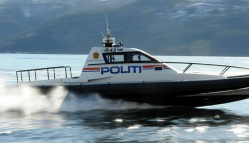 PRØVEKJØRT: Potent politibåt