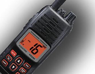 Ny flytende håndholdt VHF