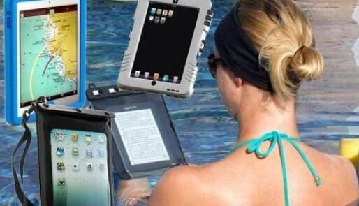 Vanntett oppbevaring for iPad