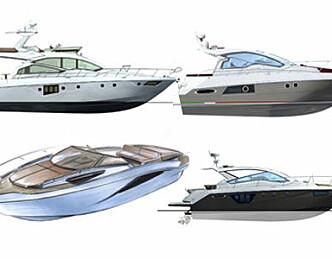 Lanserer fire nye Cranchi-modeller