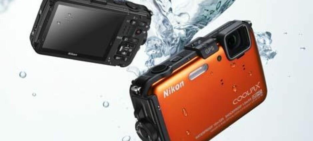 Støt-, frostsikkert og vanntett fra Nikon