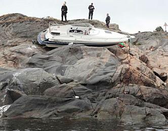 Fant tom båt på holme