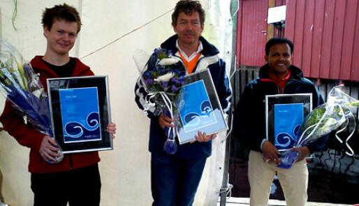 Stolte prisvinnere i Arendal