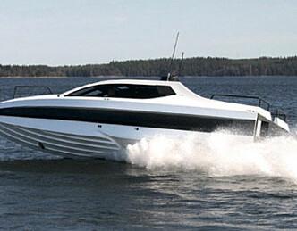 Heftig helårsbåt