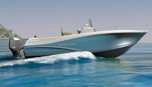 Fiskebåt med fransk komfort