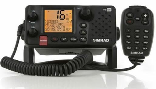 Nye serie VHF-radioer fra Simrad
