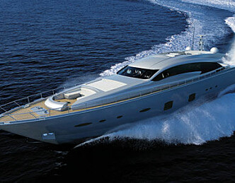 Feretti lanserer kjempeyacht