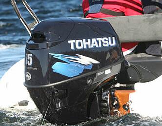 Forbedret teknikk fra Tohatsu