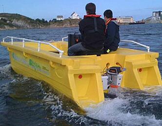Solid arbeidsbåt - nå med el-motor