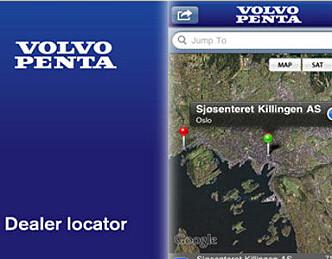 Volvo Penta med egen iPhone-app