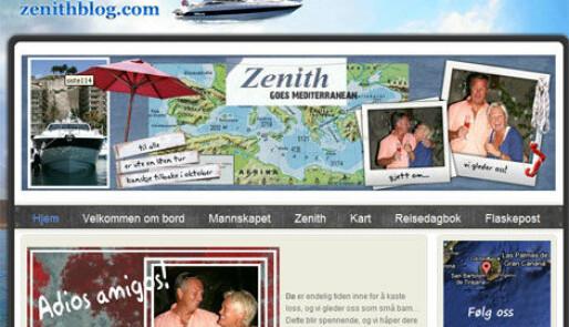 Blogger seg gjennom Middelhavet - i motorbåt