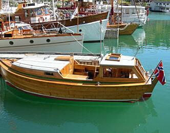 Båtfestival i strålende vær