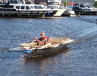 Skal konkurrere med solbåt