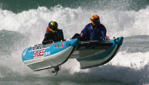 Ekstra VM-runde under båtracet i Arendal