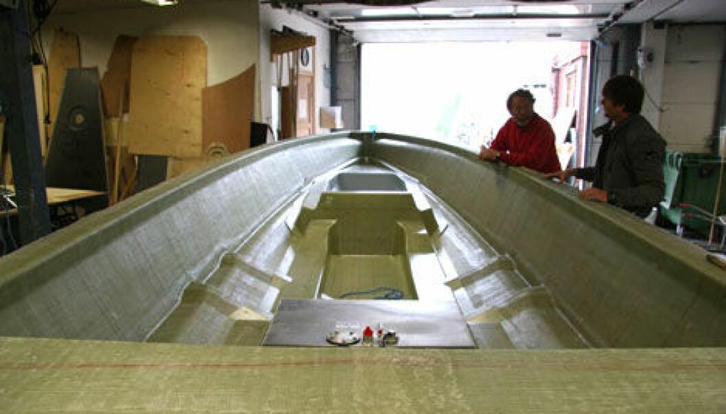 FART: Goldfish bygger båter i Son og på Elverum og opplever kraftig salgsøkning