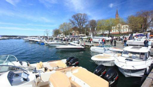 Vellykket båtmesse  i Tønsberg