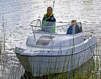 Smart svensk småbåt