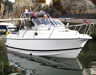 Nimbus elbåt: 40 kroner for