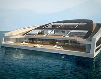 Luksusyacht bygget på norsk skrog