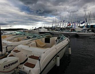 Båtglede på rekke og rad