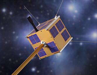 Tester AIS på satelitt