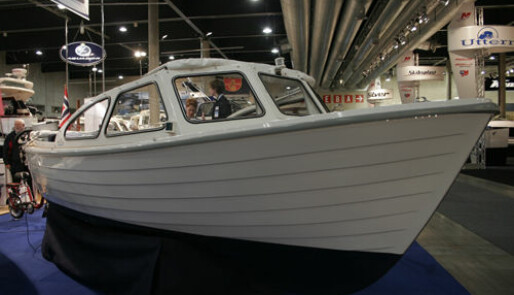 Lydløs miljøbåt