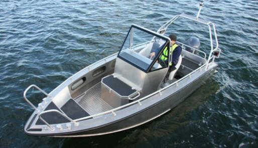 Røff helårsbåt