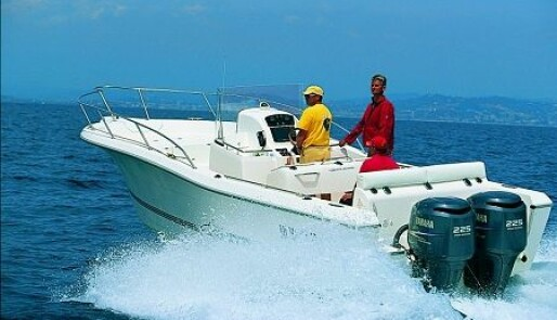 White Shark  og Sea Hawk til Fische