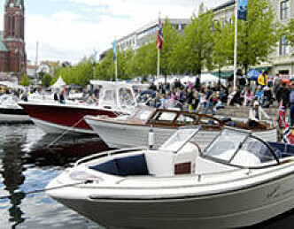 Båtmesse i Arendal