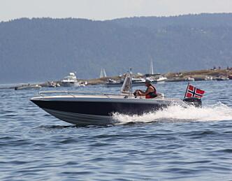 Rimelig trygt på sjøen