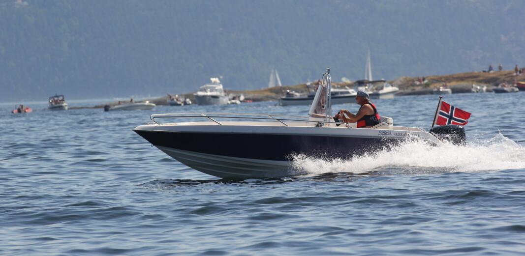 SYKKEL: Det er mye farligere å sykle enn å kjøre båt, viser statistikken.