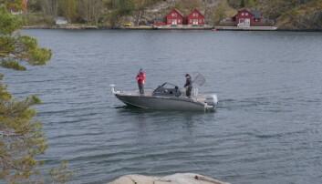 LES OGSÅ: Proff sportsfisker med mobilen