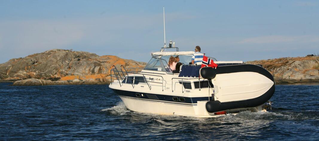 ETTERSPØRSEL: Mange ønsker å leie en familiebåt denne sommeren for å nyte ferien i Norge.