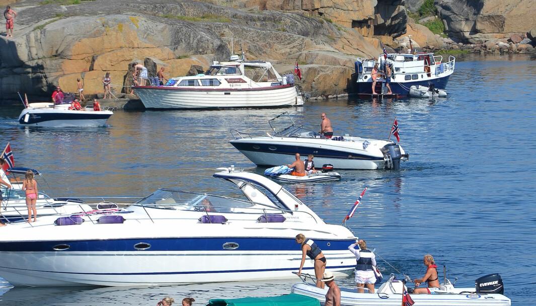 BÅT TIL SOMMEREN: Skal du kjøpe båt er det anbefalt å bruke kjøpskontrakt.