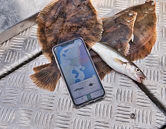 Fiskeapp rett til topps