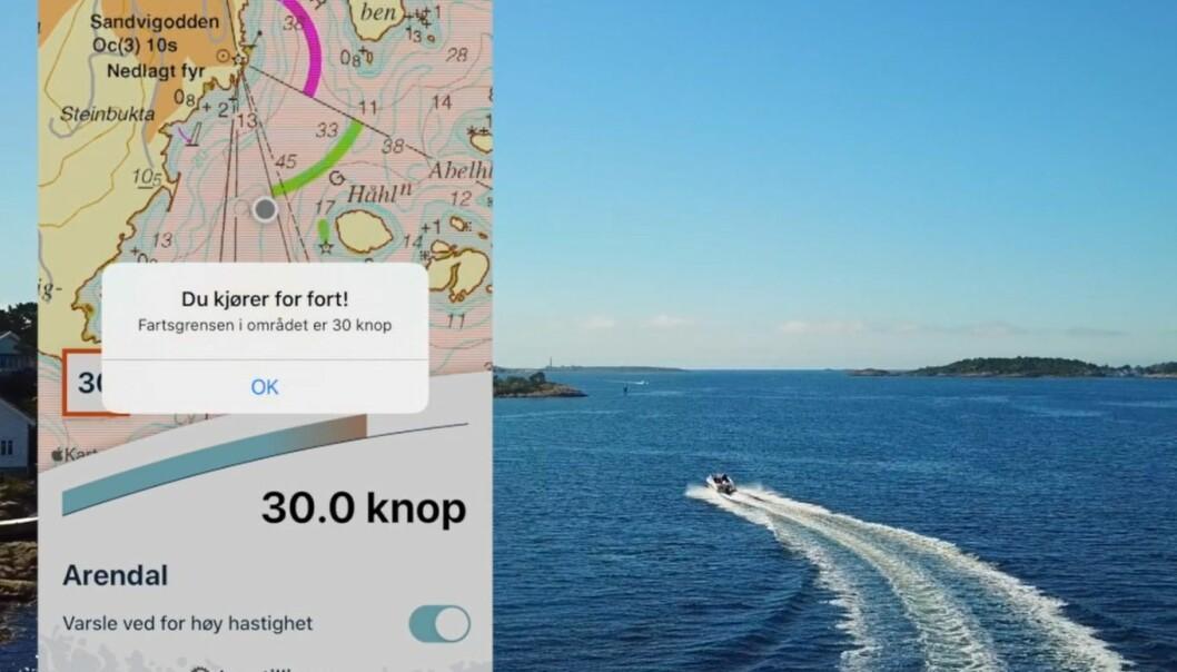 VARSLER: Appen BåtFart er lansert av Kystverket.