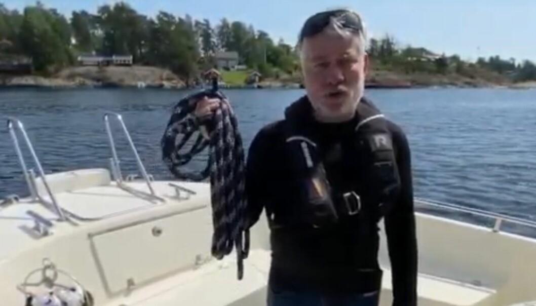 Basisutstyr i båten