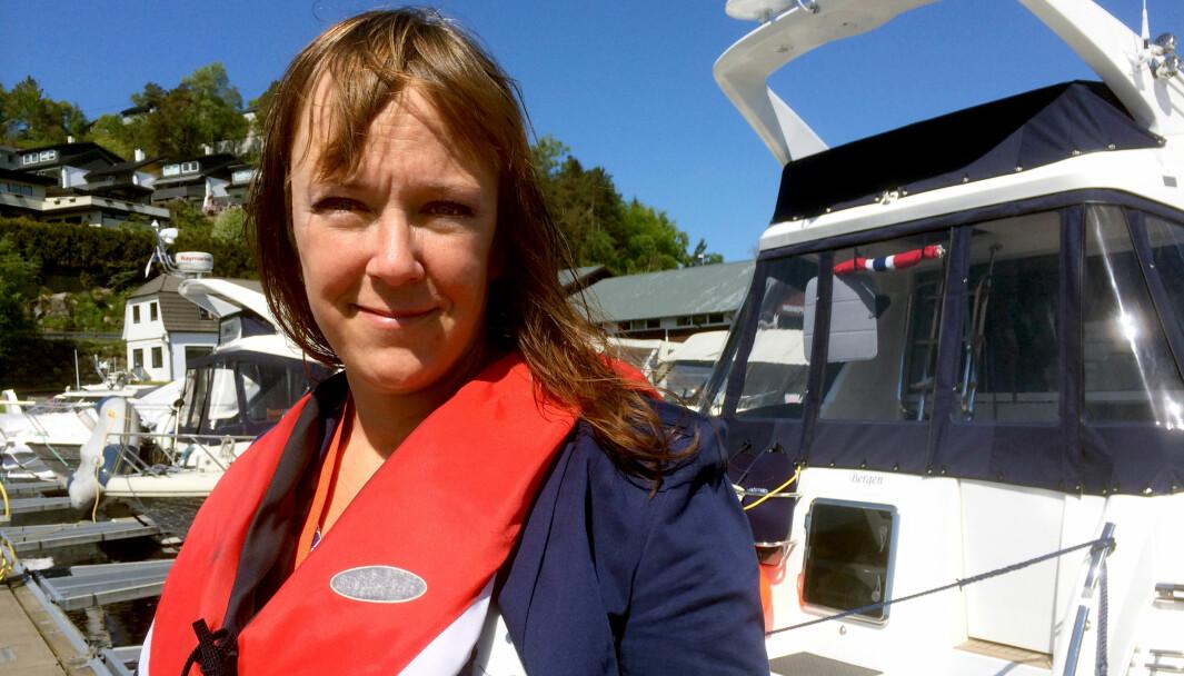 BEKYMRET: Heidi Tofterå Slettemoen hos Frende Forsikring