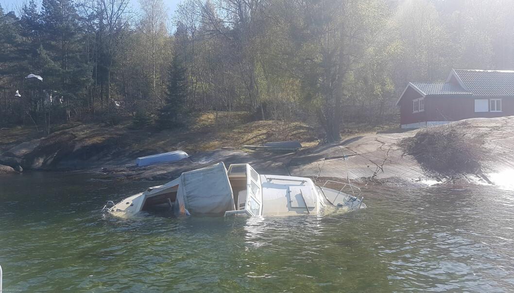 SKJULT SKADE: Kjøper fikk ikke informasjon om at båten var betydelig skadet og reparert.