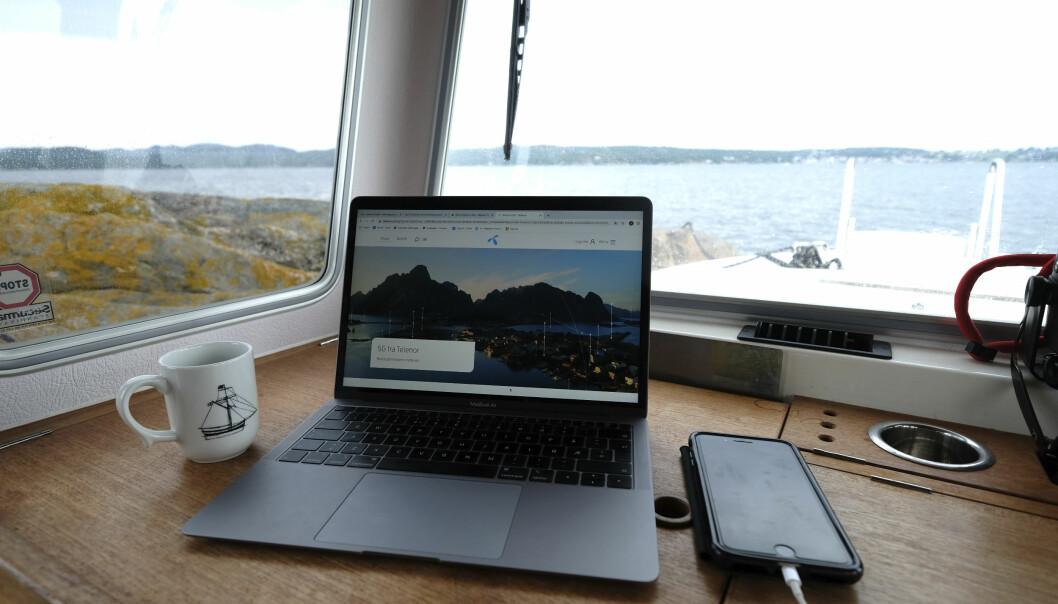 MYE RASKERE: Med 5G blir hverdagen en annen for båtfolket, med raskere nett og nye muligheter.