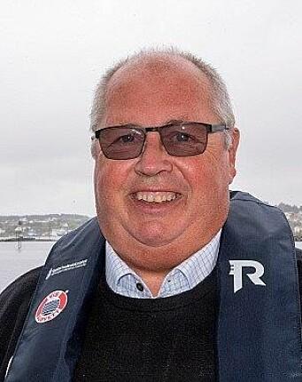 FORNØYD: Fungerende sjøfartsdirektør Lars Alvestad